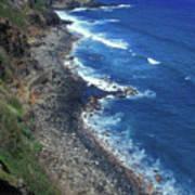 West Maui Coast Overview Art Print