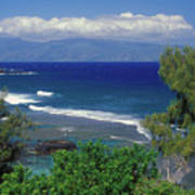 West Maui Ocean View Art Print