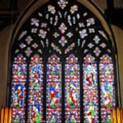 West Stained Glass Window Christ Church Cathedral 1 Art Print