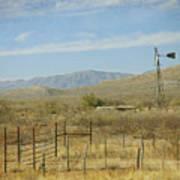 West Texas Ranch Scene II Art Print