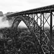 West Virginia - New River Gorge Bridge Art Print by Brendan Reals