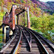 West Virginia Trestle Art Print