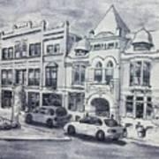 Western Avenue In Muskegon, Michigan Art Print