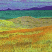Western Edge Prairie Dream Art Print