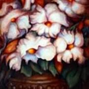 Western Flowers Art Print