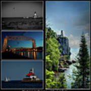 Western Lake Superior Art Print