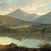 Western Landscape Art Print by John Mix Stanley