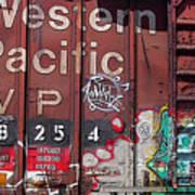 Western Pacific Art Print