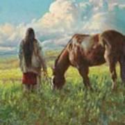 Western Skies Art Print