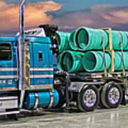 Western Star Ipex Truck Art Print