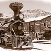Western Train Art Print