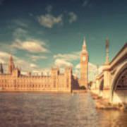 Westminster Big Ben Art Print