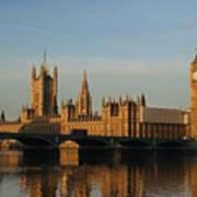 Westminster Morning Art Print