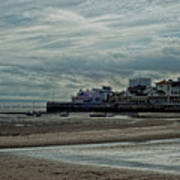 Weston - Super -mare  -  Outflow - Hdr Art Print
