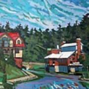 Westport Cove Art Print