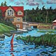 Westport Grist Mill Art Print