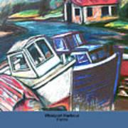 Westport Harbour Art Print