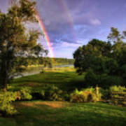 Westport Rainbow Art Print