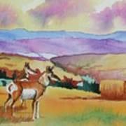 Westriver Pronghorn Art Print