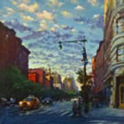 Westside Sunset No. 4 Art Print