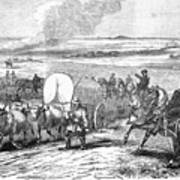 Westward Expansion, 1858 Print by Granger
