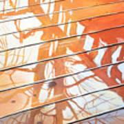 Wet Deck 2 Art Print