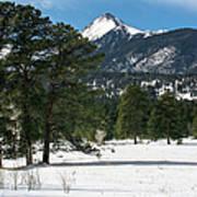 Wet Mountain Valley In Winter Art Print