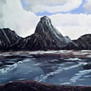 Wet Mountains Art Print