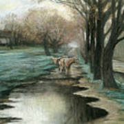 Wet Spring Art Print