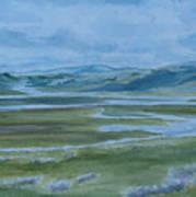 Wet Summer In Big Sky Country Art Print