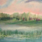 Wetland Solitude Art Print