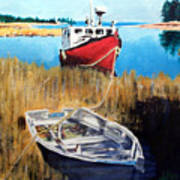 Wetland Taxi Art Print