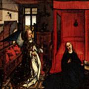 Weyden Annunciation Triptych Art Print