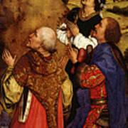 Weyden Bladelin Triptych  Right Wing  Art Print