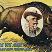 W.f.cody Poster, 1908 Art Print