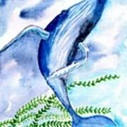 Whale 6 Art Print