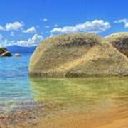 Whale Beach Lake Tahoe Art Print