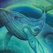 Whale Tohora By Reina Cottier Art Print