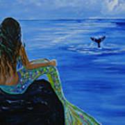 Whale Watcher Art Print