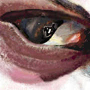 What The Eye Tell's Art Print