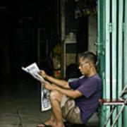 What's The News Art Print