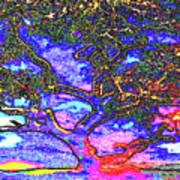 Whatwoods Tree Art Print