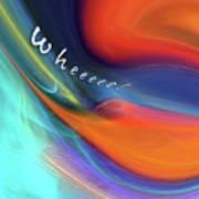 Wheeeee Art Print