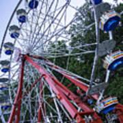 Wheel At The Fair Art Print