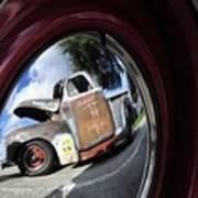 Wheel Reflections Art Print