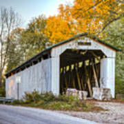 Wheeling Covered Bridge Art Print