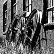 Wheels From The Past Art Print