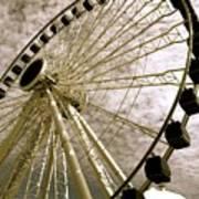 Wheels In The Wind Art Print