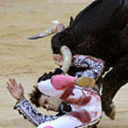 When The Bull Gores The Matador Iv Art Print