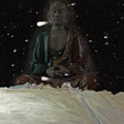 When You Meet The Buddha Art Print